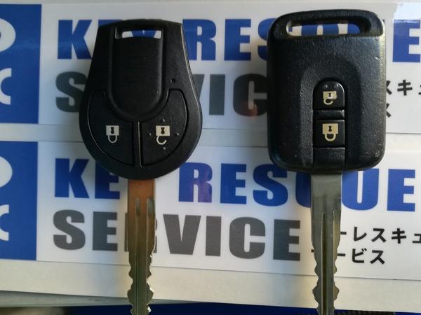日産キャラバン E25 リモコンキー追加登録